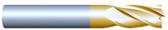 "#43757TIN----4 Flute 3/8"" Dia. x 1 3/4"" LOC x  4"" OAL"