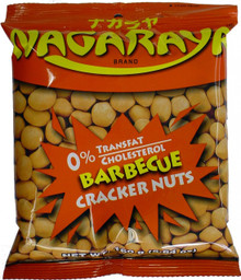 Nagaraya Cracker Nuts (BBQ) 5.64 oz. - 2 Pack