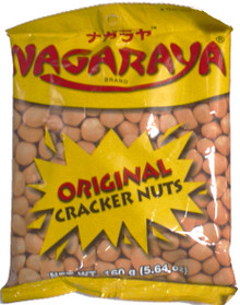 Nagaraya Cracker Nuts (Butter) 5.64 oz. - 2 Pack
