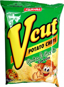 Jack n Jill V Cut Potato Chips BBQ Flavor 65 g - 3 Pack