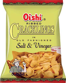 Oishi Salt and Vinegar 3.53oz. - 2 Pack
