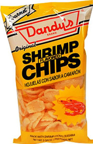 Dandy Shrimp Chips 1.5 oz. - 3 Pack