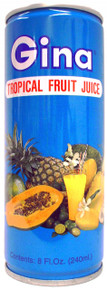Gina Tropical Fruit Drinks 8 floz - 30 Pack