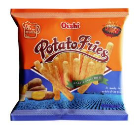 OISHI POTATO FRIES 50G - BBQ FLAVOR