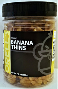 ORELL'S GLAZED BANANA THINS 7 OZ. 2-PACK (FREE SHIPPING)
