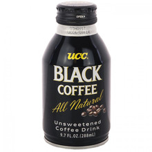 UCC Black Coffee 9.7 floz. - 24 pack