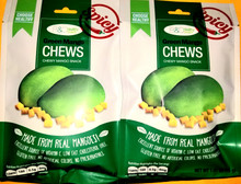 B&C Green Mango Chews Spicy 1.41oz - 2 pack
