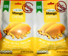 B&C Mango Chews Spicy 1.41oz - 2pack