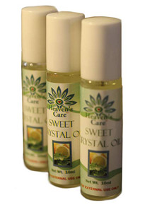 Heaven's Care Sweet Crystal Oil Set of 3 - FREE SHIPPING