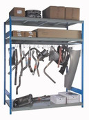 Single Level Hanging Rack