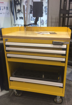 CNC Tool Cabinet - Glossy Yellow