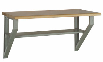 Wall Mounted Workbench (Available in Avalanche Blue)