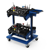 NCW0109 in Avalanche Blue CNC Tools shown are not included