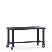 "Mobile Workbench, Basic, Steel Top, 60"" x 30"" x 35"" high"