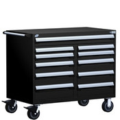 Mobile Tool Drawer Cabinet Rousseau R5GHE-3406 BK