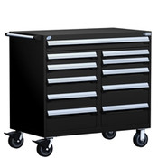 Mobile Tool Drawer Cabinet Rousseau R5GHE-3816 BK