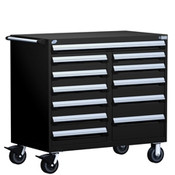 Mobile Tool Drawer Cabinet Rousseau R5GHE-3818 BK