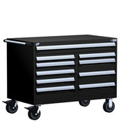 Mobile Tool Drawer Cabinet Rousseau R5GHE-3005 BK