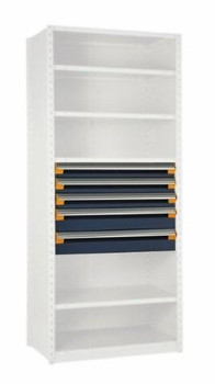 "5 Drawer Insert for Existing Shelving 36"" wide x 24"" deep"
