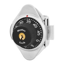 Master Lock 1631MD Locker Lock. Built-In Combination lock for Lift Handle, Left Hand Lockers. Automatic Locking. This lock has a metal dial. Colors are available.