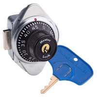 Master Lock 1676MDMKADA Built-In Combination Lock for Right Handed Lockers. Extra Large key head for easy opening. Durable Metal Dial -- Colors Available