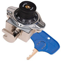 Master Lock 1695MDMKADA. ADA Built-In Combination Locker Lock. For Single Point Lockers. Large Key Head for easy opening.