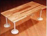 ADA Compliant Locker Room BENCH TOPS. (Pedestals sold separately.) Several Sizes Available. Price Depends on Dimensions.