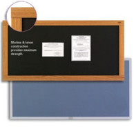 Marsh Plastic Sealed Cork Bulletin Boards. Variety of colors, sizes & trims. Price depends on size and trim.