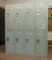 Used  Lockers. Penco-lyon-republic lockers