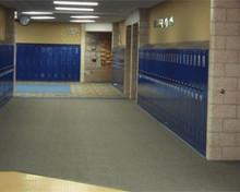 Standard Single Tier Corridor Lockers.