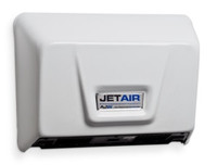 Warm Air Hand Dryer for Restrooms. ADA compliant when installed correctly
