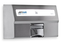 Warm Air Hand Dryer for Restrooms. Stainless Steel