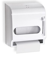 Paper Towel Dispenser for Restrooms. Non-perforated roll