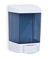 Liquid Soap or Hand Sanitizer Dispenser. High Impact Plastic