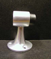 Door Stop, Aluminum. For Wood Floors. #3201AL