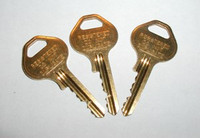 Master Lock Master (Control) Key for Locker Locks
