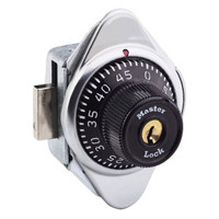 Master Lock 1630 Locker Lock. Built-In Combination Lock for Right Hand Lockers with lift handles.