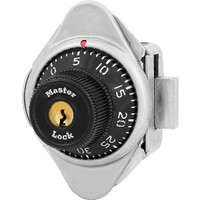 Master Lock 1631 Locker Lock. Built-In Combination Lock for Lift Handle Lockers. Left Hand.