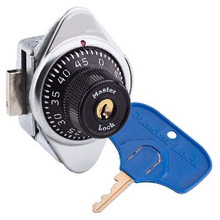 Master Lock 1636MKADA Locker Lock for Special Needs user. Standard Built-In Combination Lock that also allows user to open lock with large-headed student key. For Lift Handle, Right Hand Lockers. Meets ADA Standards