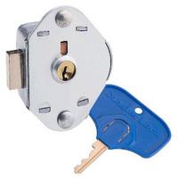 Master Lock Locker Lock for Special Needs User. ADA Compliant Built-In Keyed Deadbolt Flat Lock. #1710MKADA
