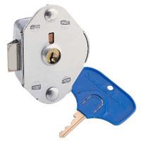 Master Lock Locker Lock for Special Needs Users. ADA Compliant Built-In Keyed Springbolt Flat Locker Lock. #1714MKADA