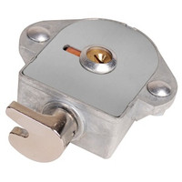 Master Lock 1790KA Built-In Flat Locker Lock. Control Keyed. For Single Point Lockers.