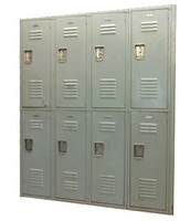 used Lockers. Penco. 12x12x72. #121272PST