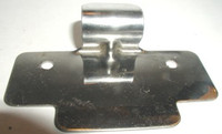 Interior Steel Locker Door Pull / Padlock Strike. #76011