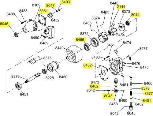 285-TK1 T/U Kit equivalent.