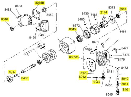 281-TK1 T/U Kit equivalent.