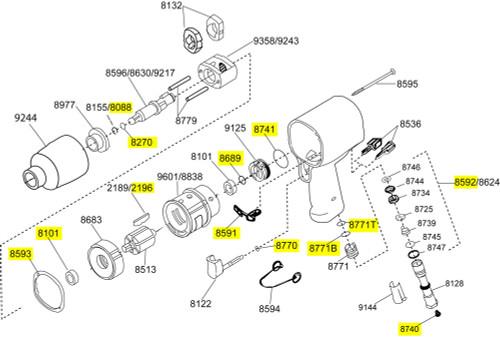 2131-TK2 T/U Kit equivalent.