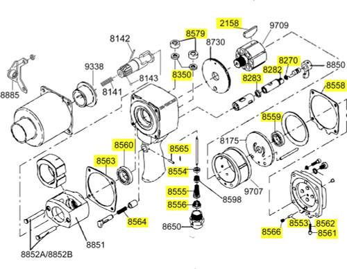 290-TK2 T/U Kit equivalent.