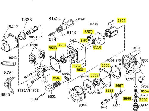 2940-TK3 T/U Kit equivalent.