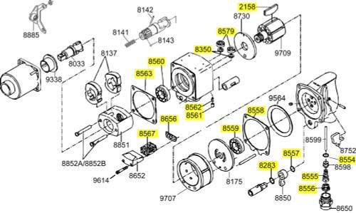 2934-TK3 T/U Kit equivalent.